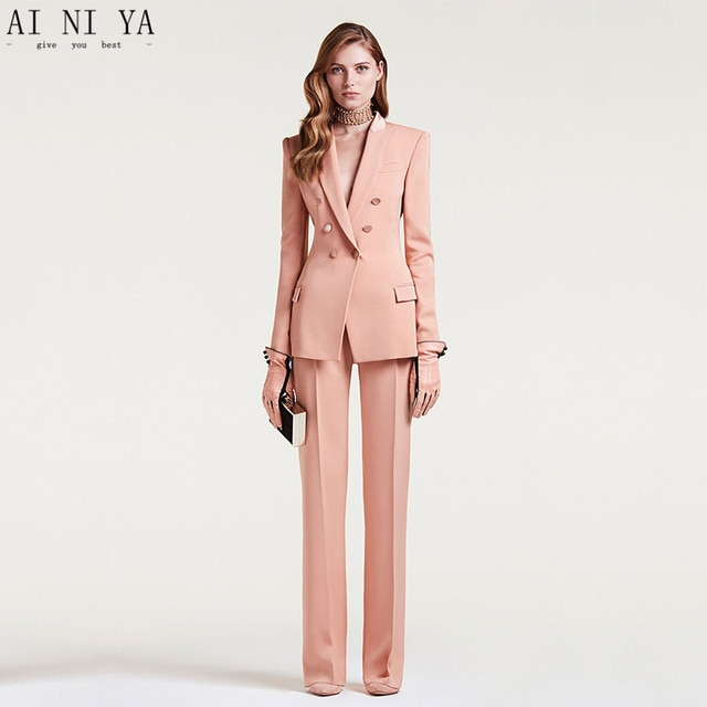 business casual pants female photo - 1