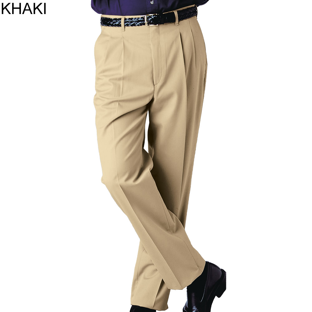 business casual pants mens photo - 1