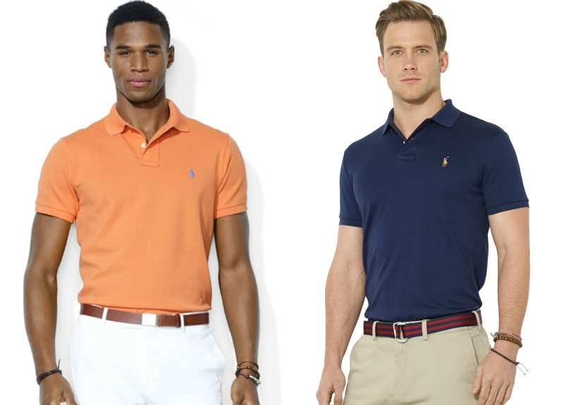 business casual polo tucked or untucked photo - 1