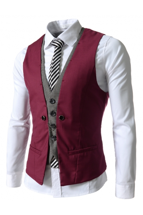 business casual sweater vest photo - 1