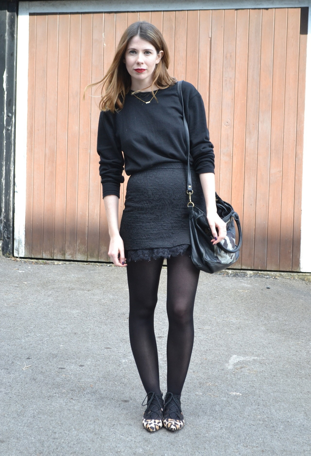 business casual tights photo - 1