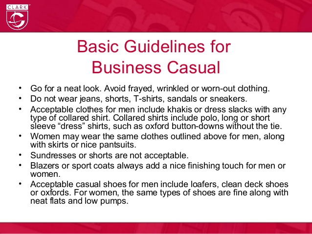 business casual vs professional photo - 1