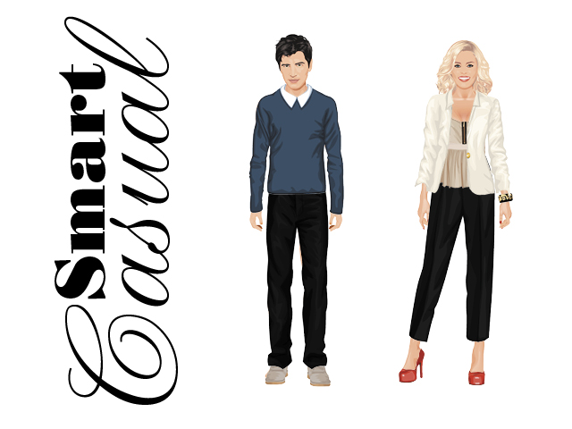business casual vs smart casual photo - 1