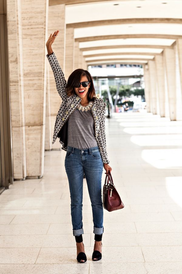 business casual with jeans women photo - 1