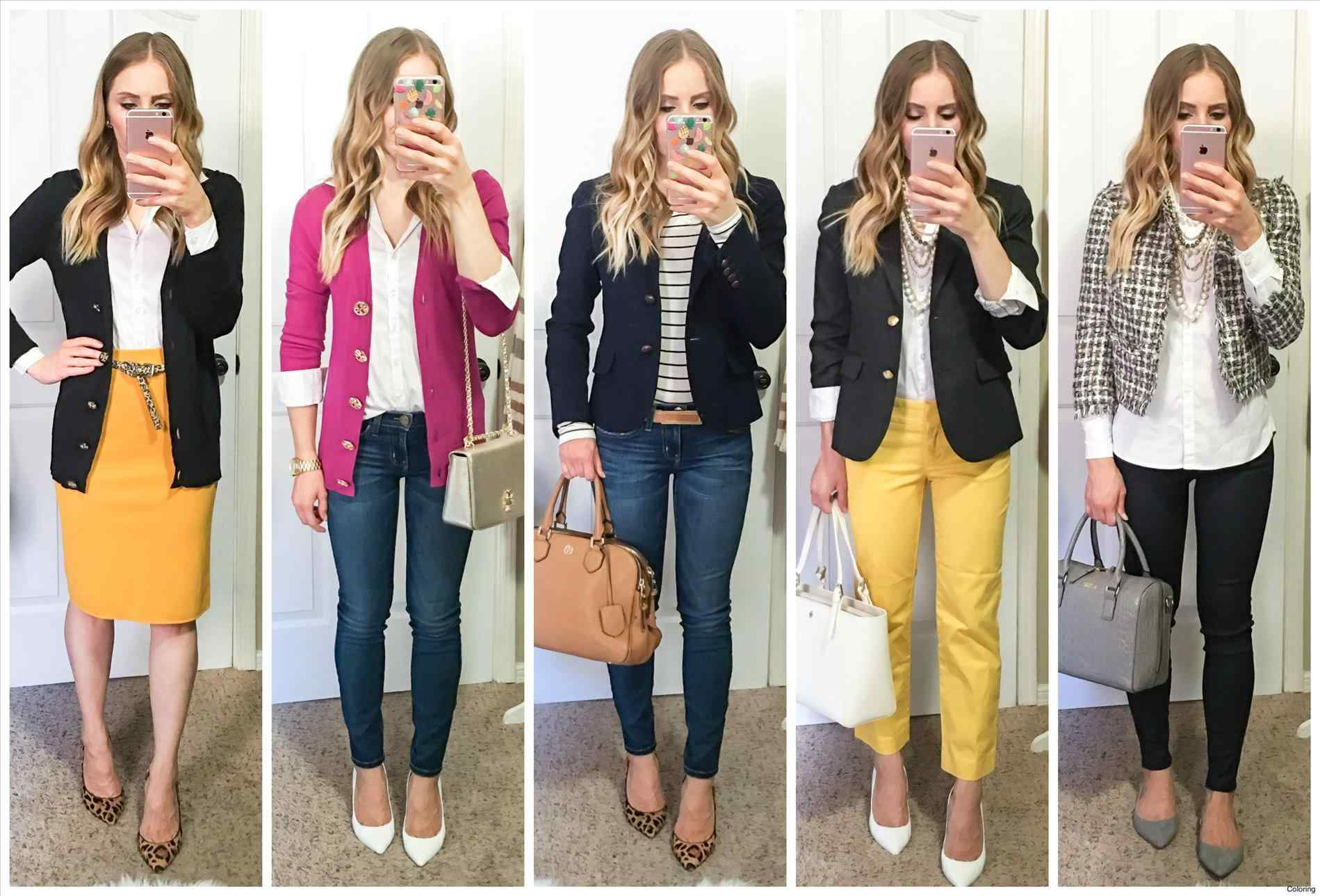 business casual women examples photo - 1