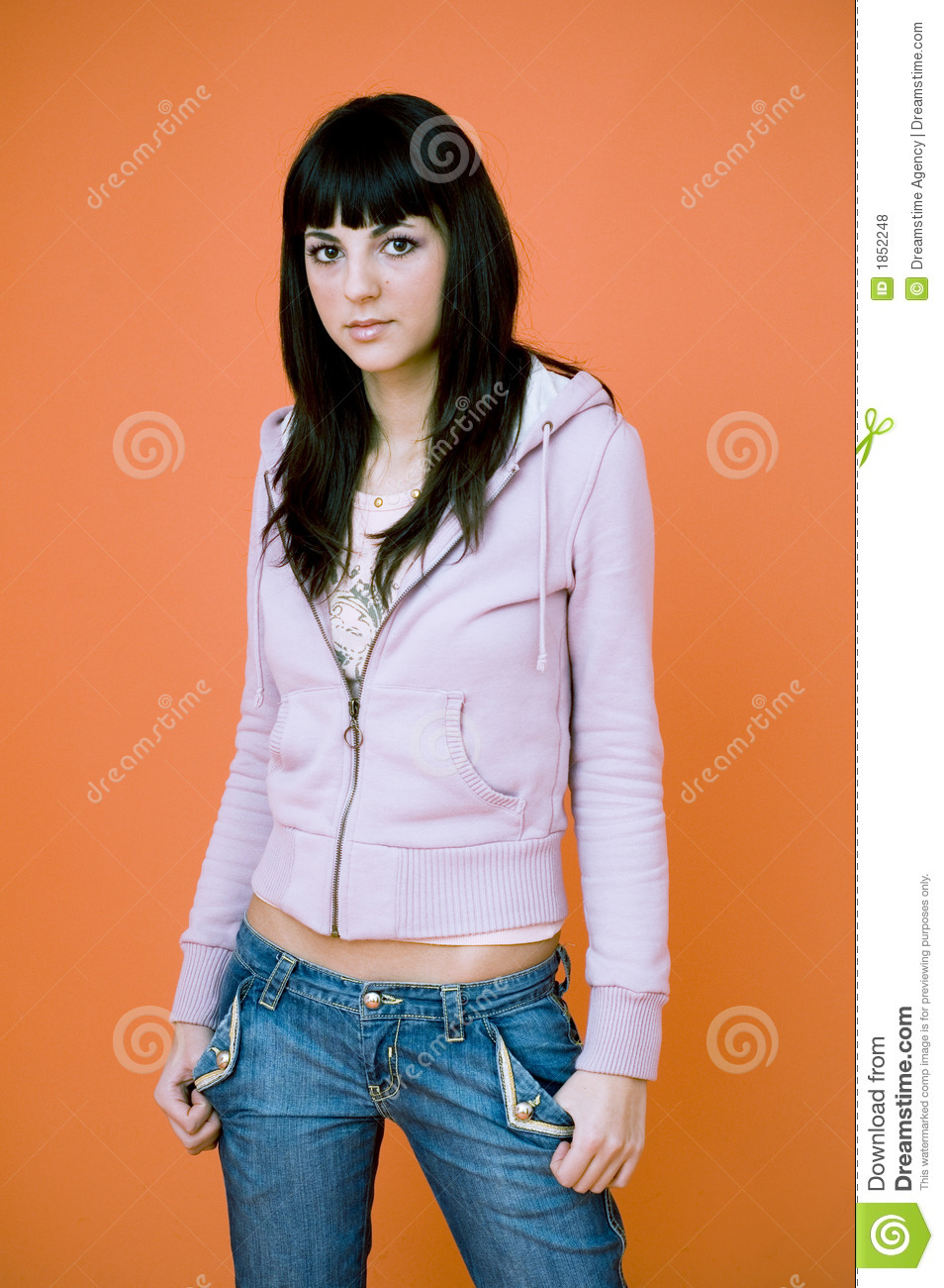 business casual young woman photo - 1