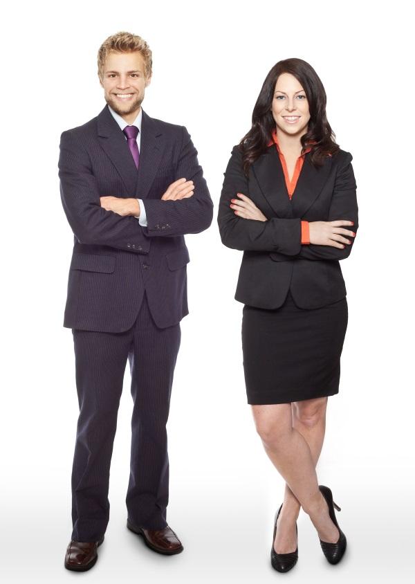 business professional attire vs business casual photo - 1