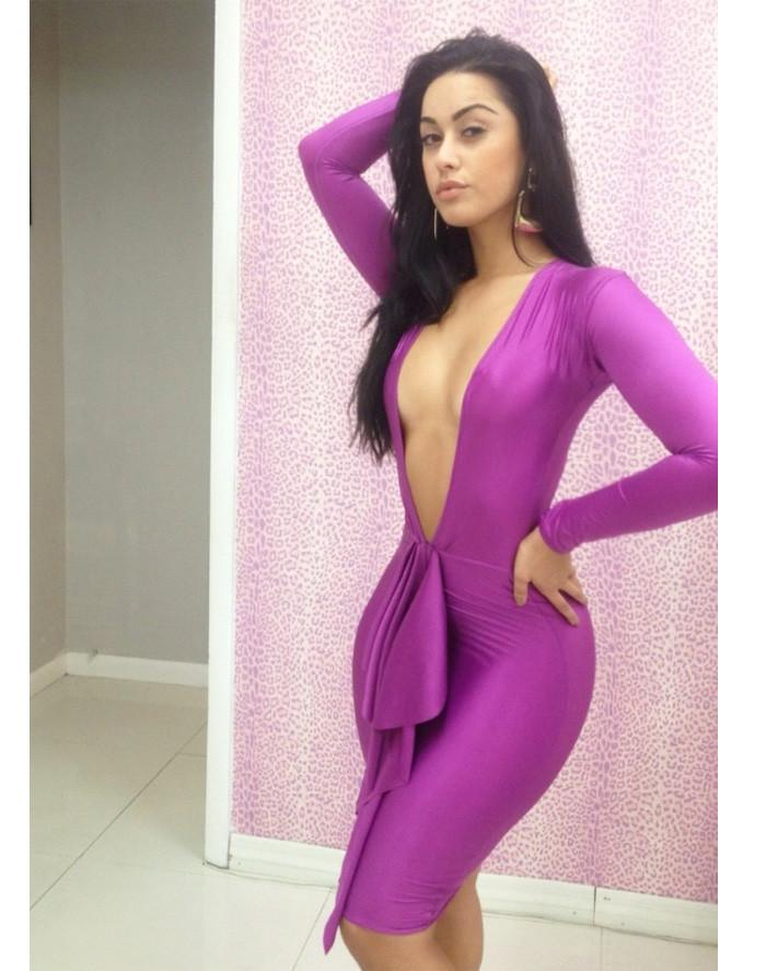 casual bodycon dress photo - 1