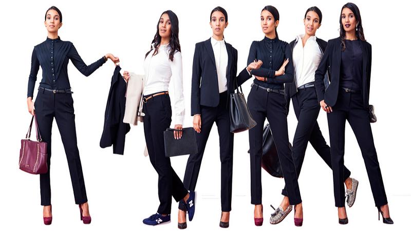 casual business attire female photo - 1