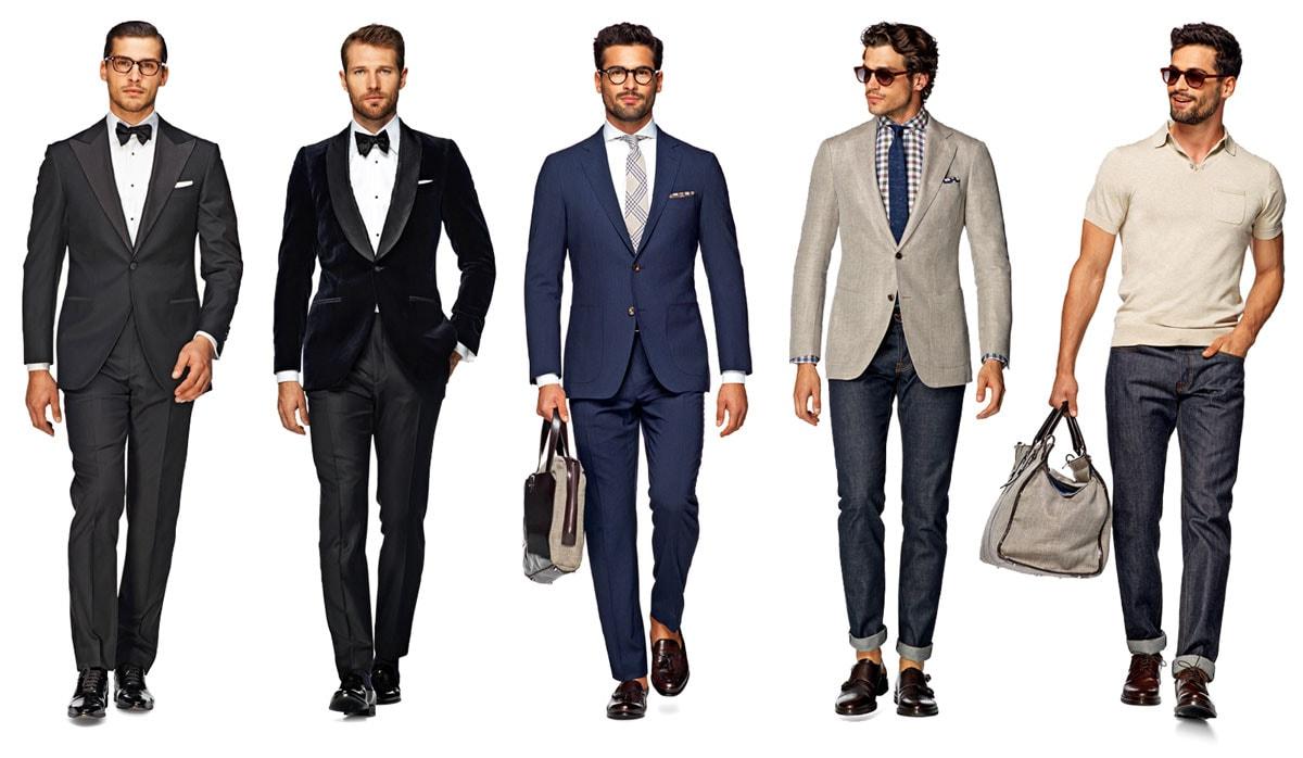 casual business attire male photo - 1