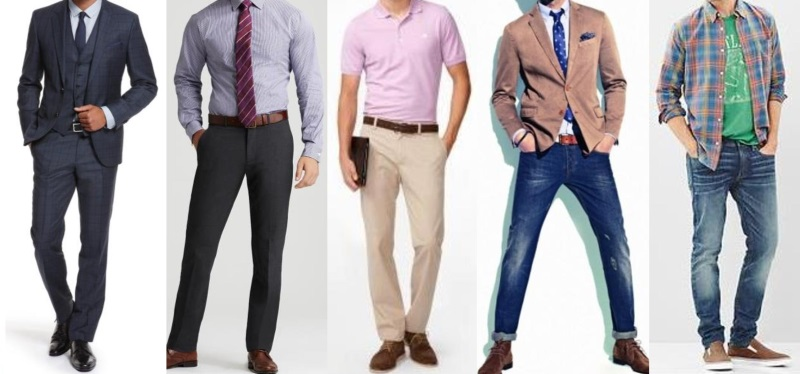 casual dress clothes for work photo - 1