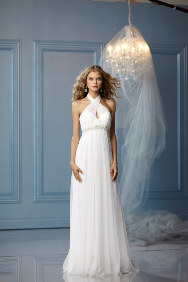 casual dress for beach wedding photo - 1