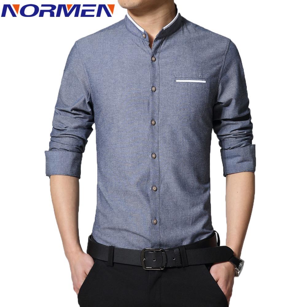 casual dress shirt for men photo - 1