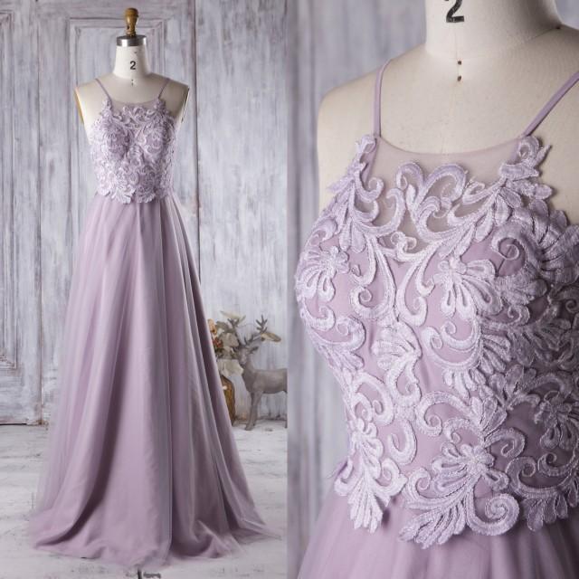 casual light purple dress photo - 1