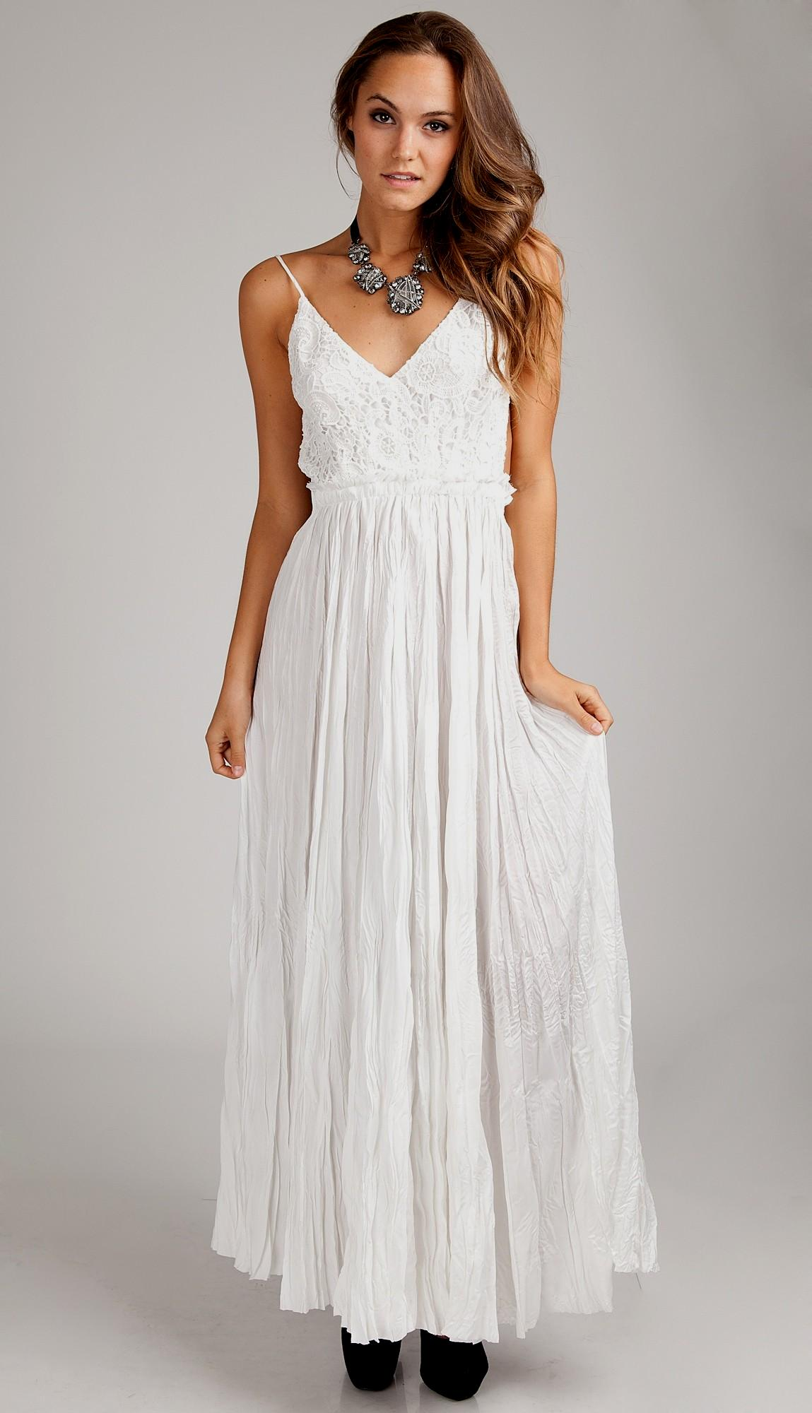 casual maxi dress photo - 1