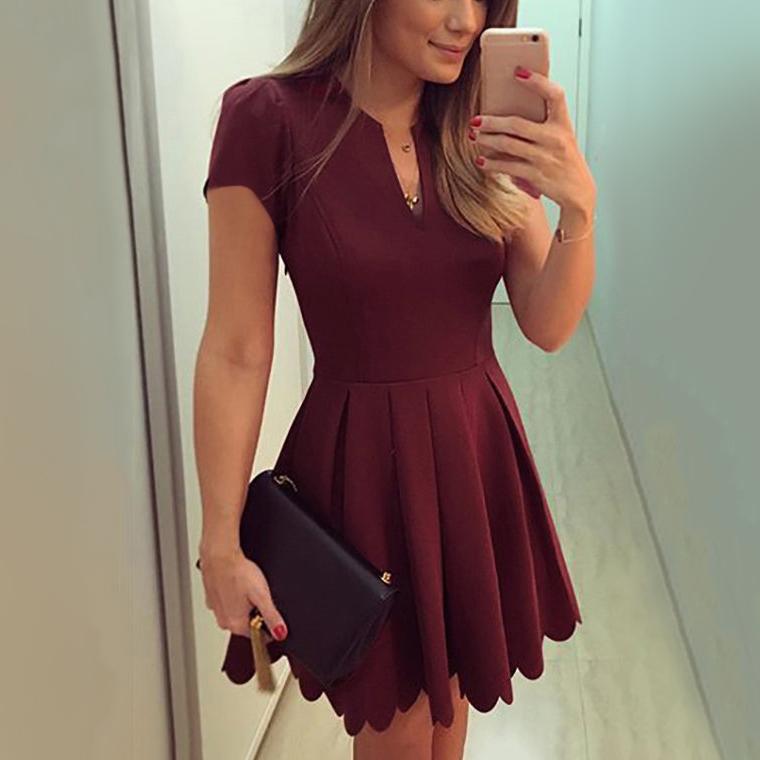 casual mini dress photo - 1