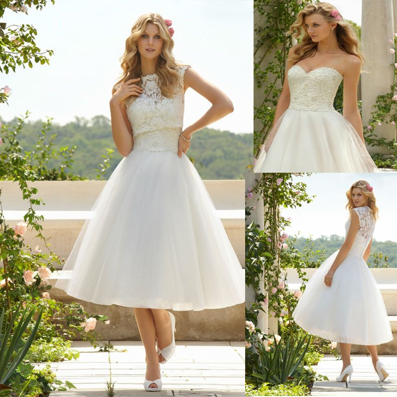 Casual Outdoor Wedding Dress