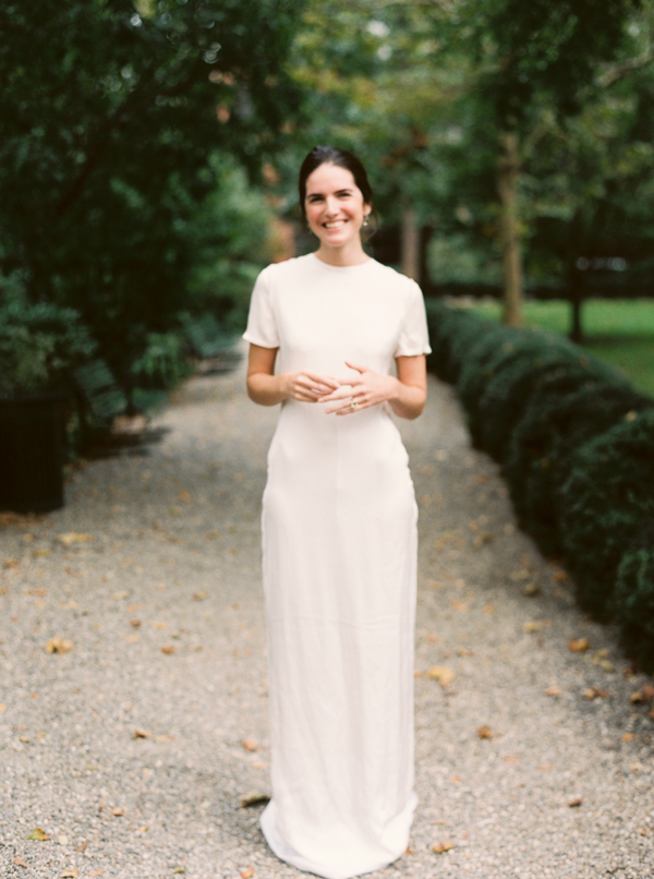 casual rustic wedding dress photo - 1