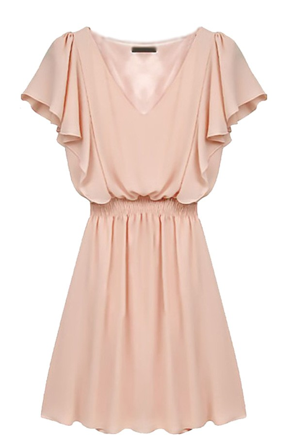 casual short sleeve maxi dress photo - 1