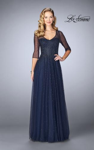evening dresses at macys photo - 1