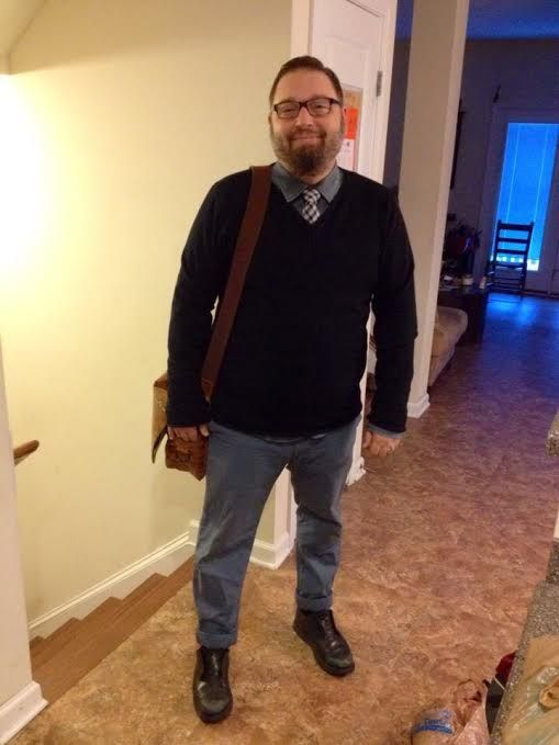 fat guy business casual photo - 1