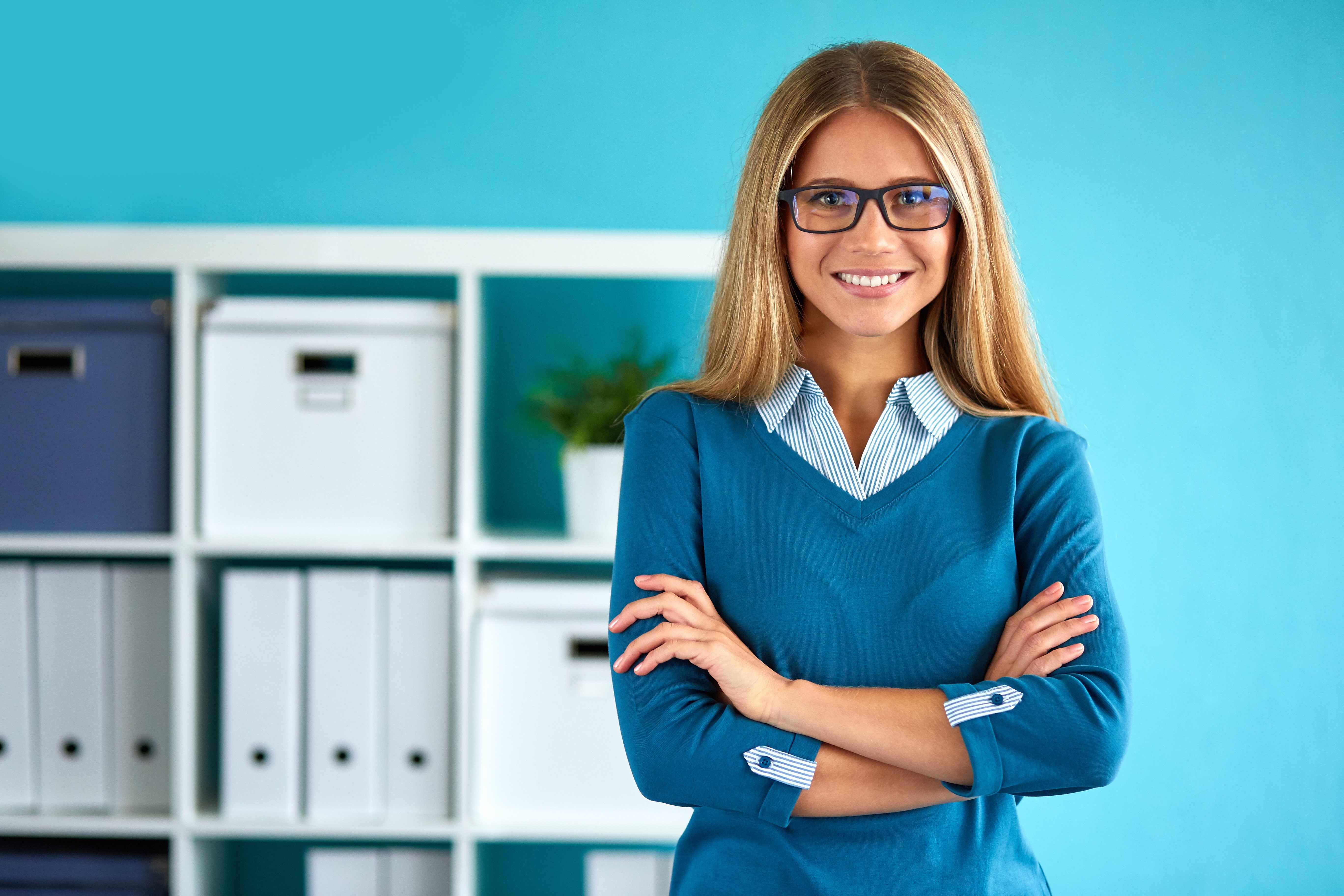how to dress business casual female photo - 1