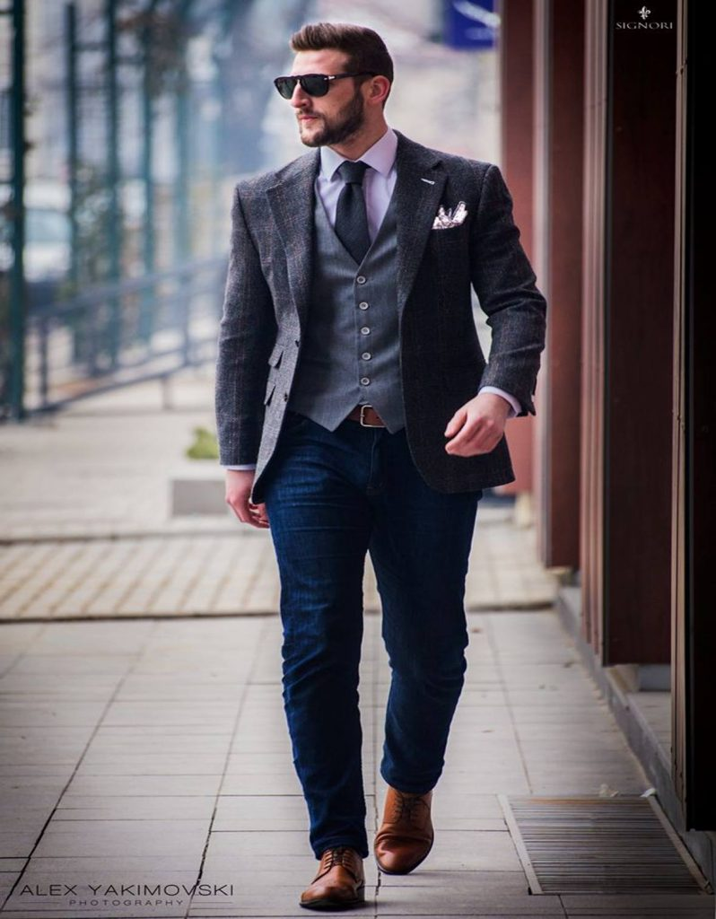 how to dress business casual men photo - 1