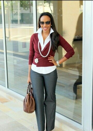 images of business casual attire photo - 1