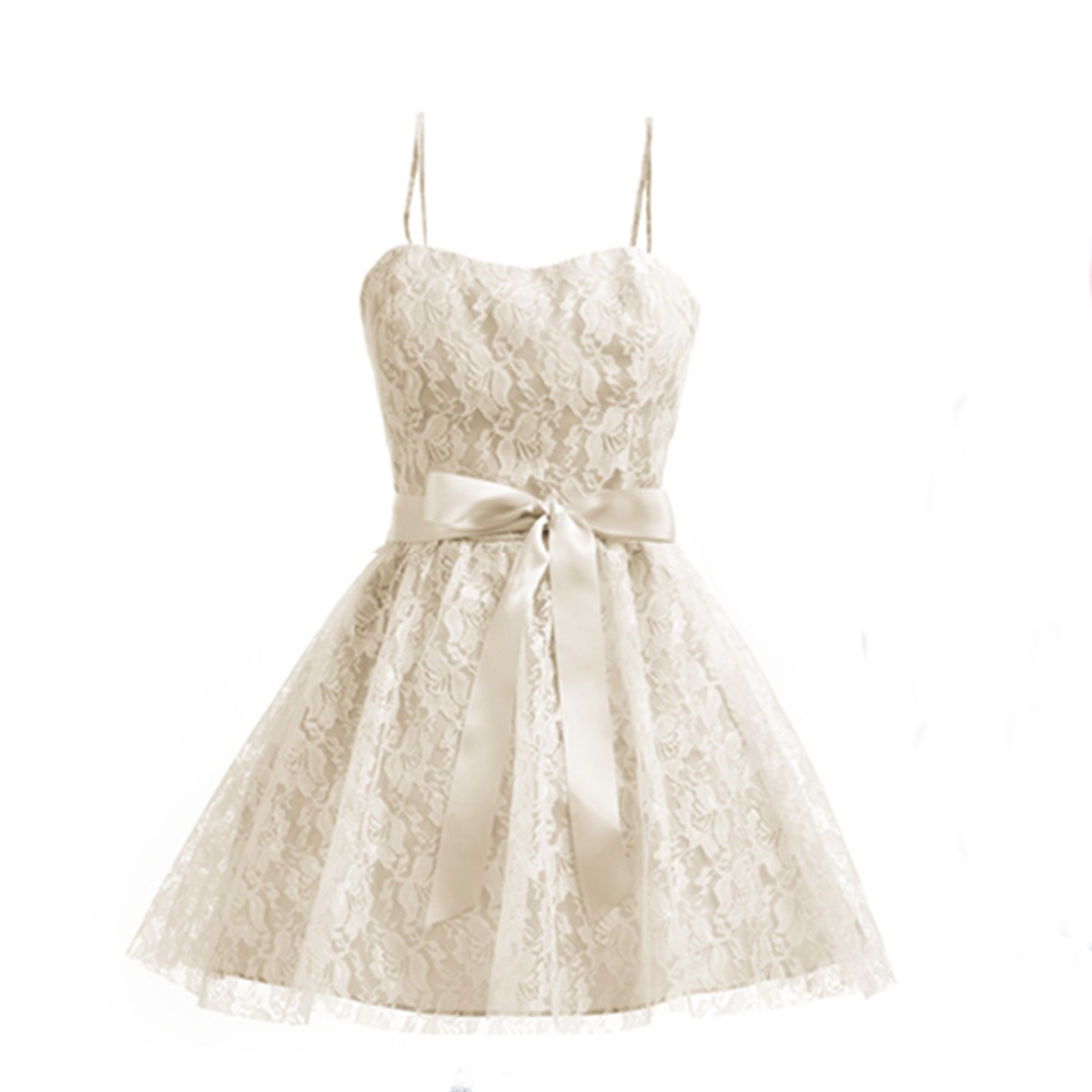 lace casual dress photo - 1