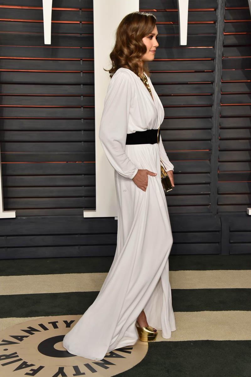 long white dress casual photo - 1