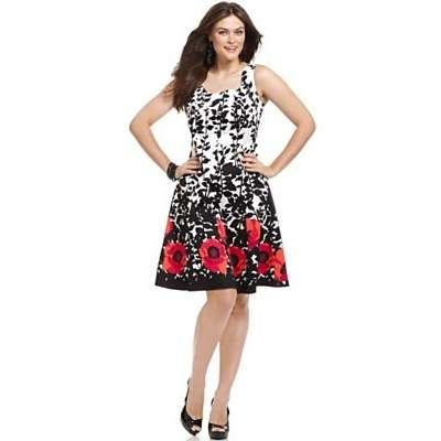 macys floral dresses photo - 1