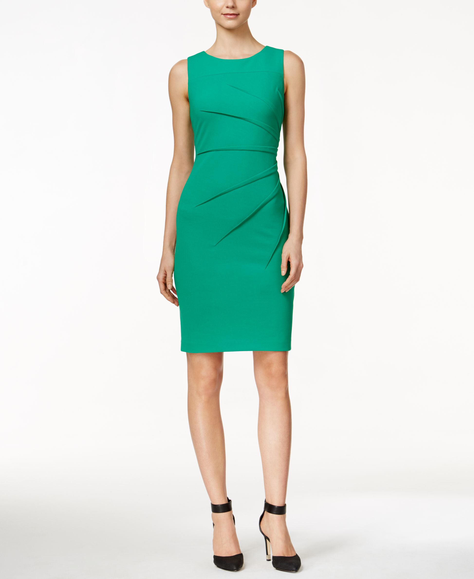 macys green dresses photo - 1