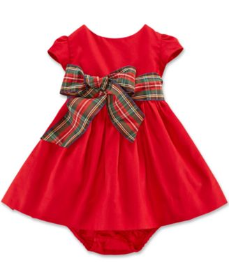macys infant christmas dresses photo - 1