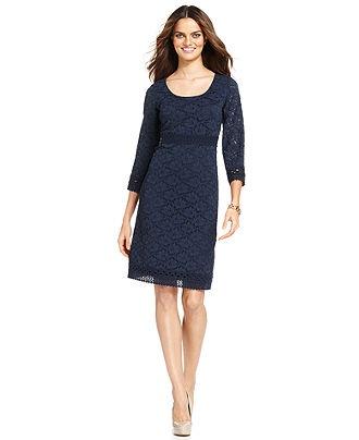 macys sheath dresses photo - 1