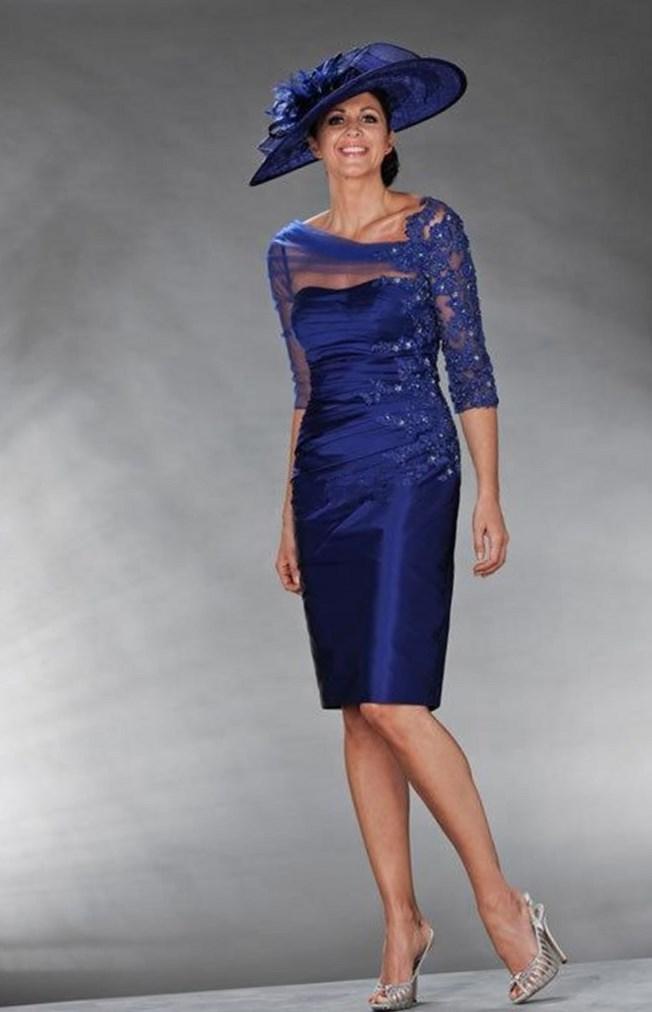 macys tea length dresses photo - 1