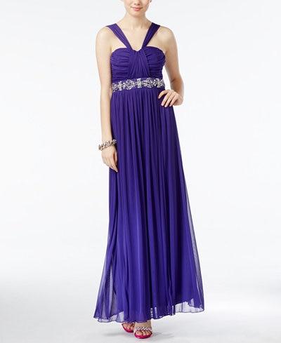 macys white prom dresses photo - 1