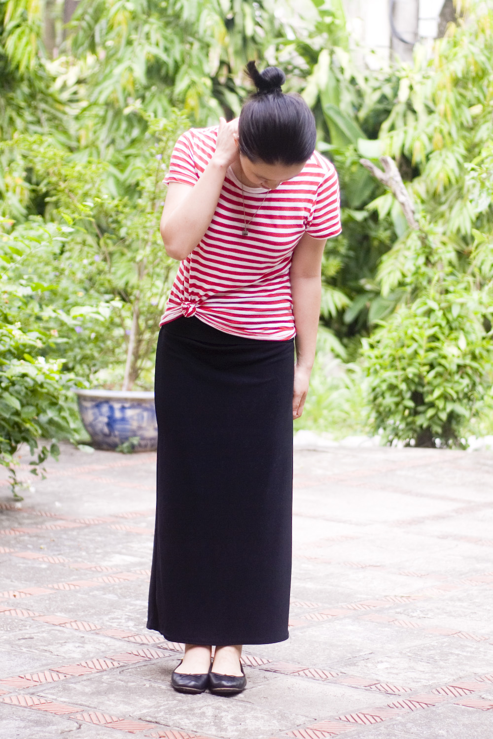 maxi skirt business casual photo - 1
