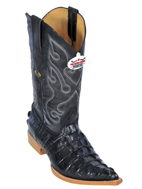 mens black casual dress boots photo - 1