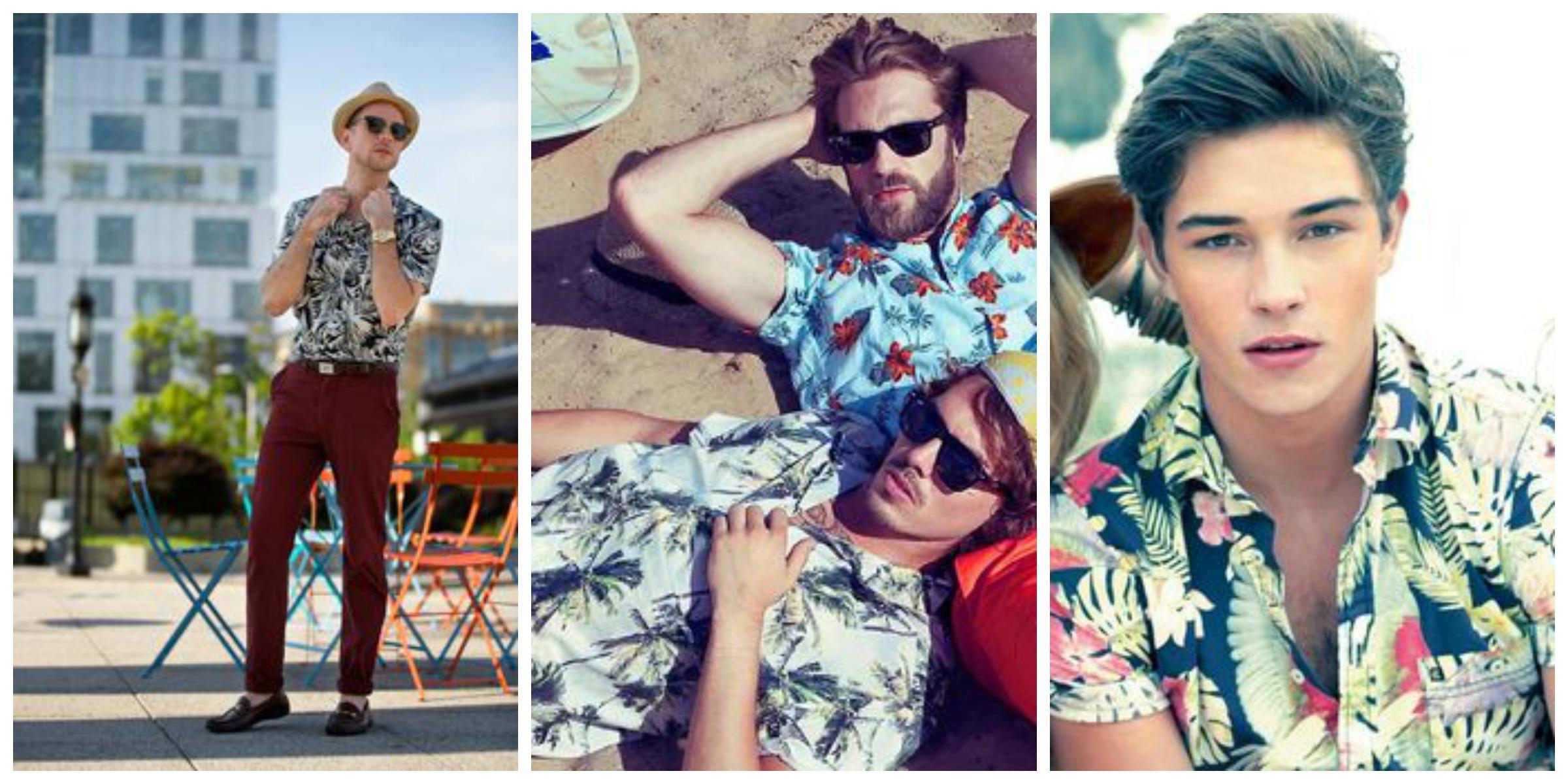 mens hawaiian style shirts photo - 1