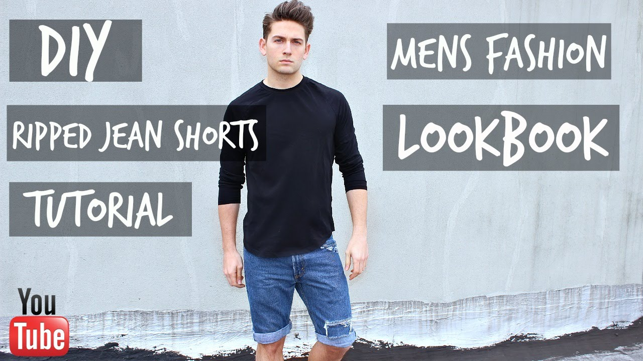 mens jean shorts out of style photo - 1