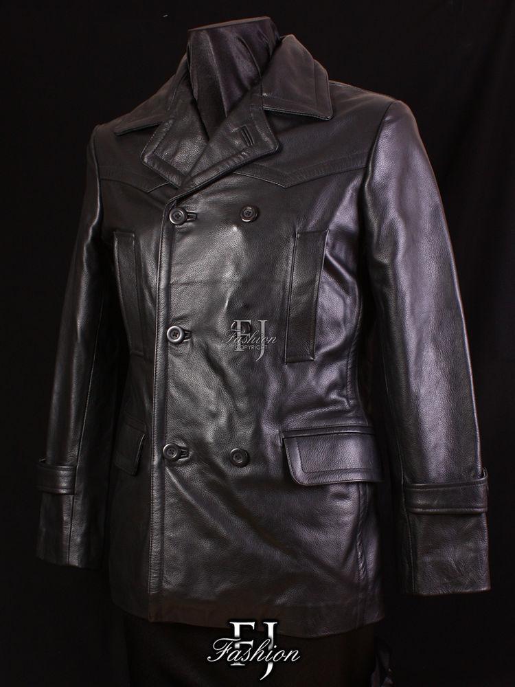 mens leather jacket style photo - 1