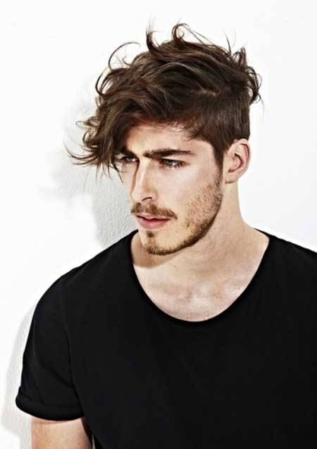 mens messy hair style photo - 1