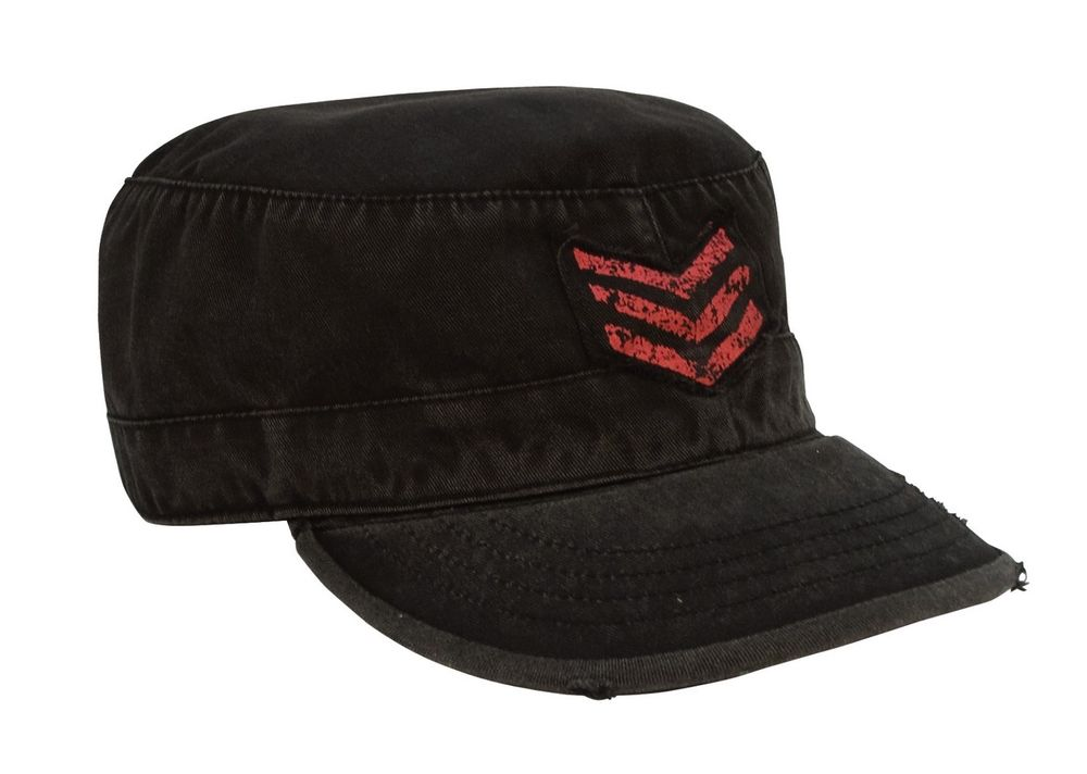 mens military style hats photo - 1