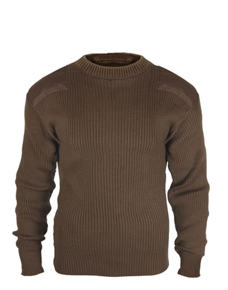 mens military style sweaters photo - 1