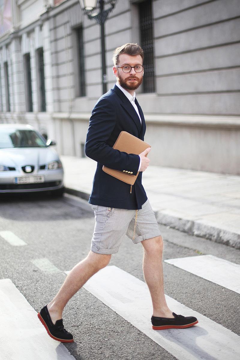 mens style shorts photo - 1