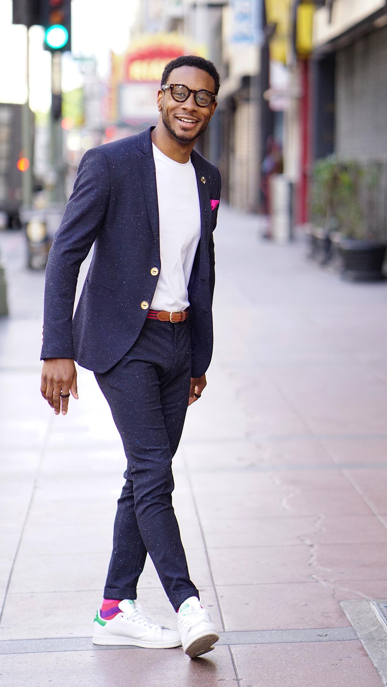 mens style suit photo - 1