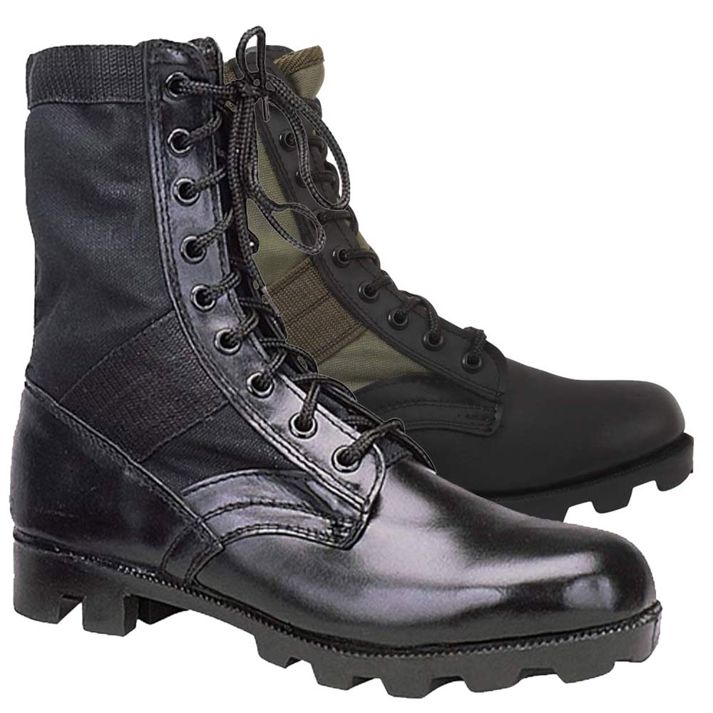 military style boots mens photo - 1