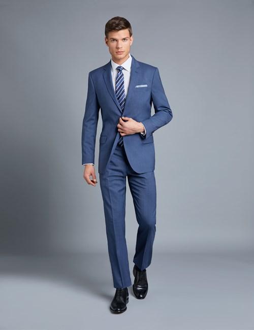navy blue casual dress photo - 1