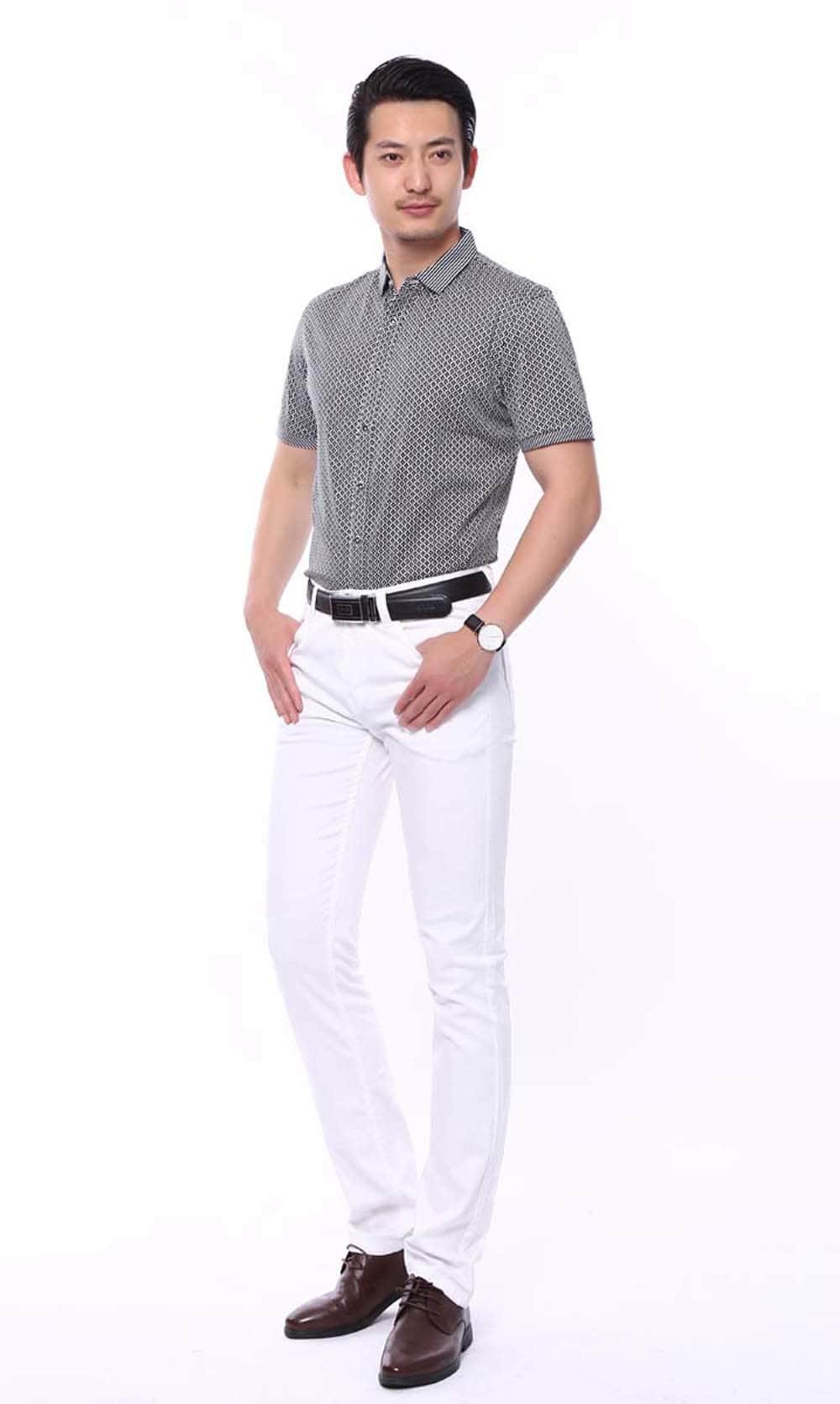plaid shirts business casual photo - 1