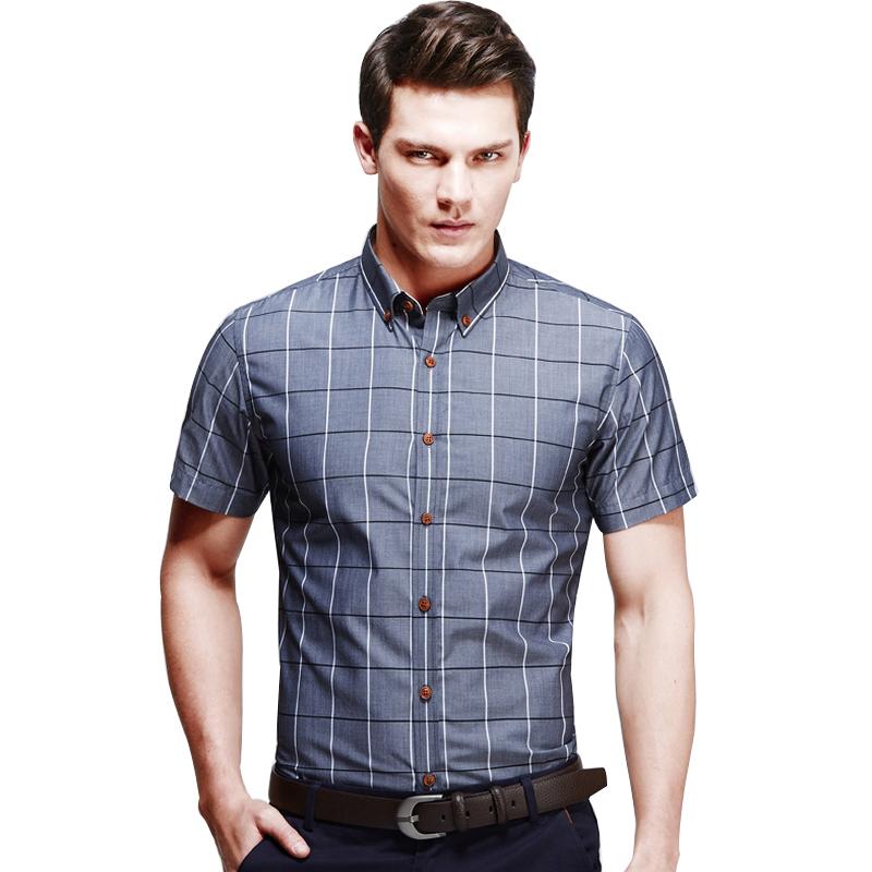 short sleeve casual dress shirts photo - 1